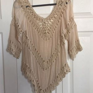 Other - Cream loose sweater